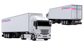 Goedkoopste vrachtwagen stickers pakket s