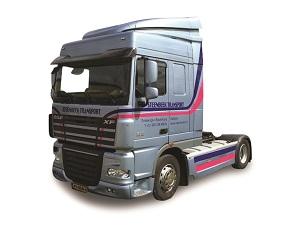 Vrachtwagen stickers en reclame