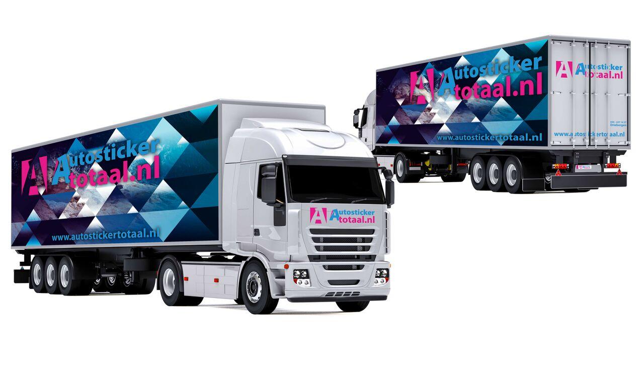 Vrachtwagen auto stickers